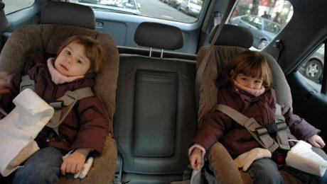 Winter Coat Car Danger