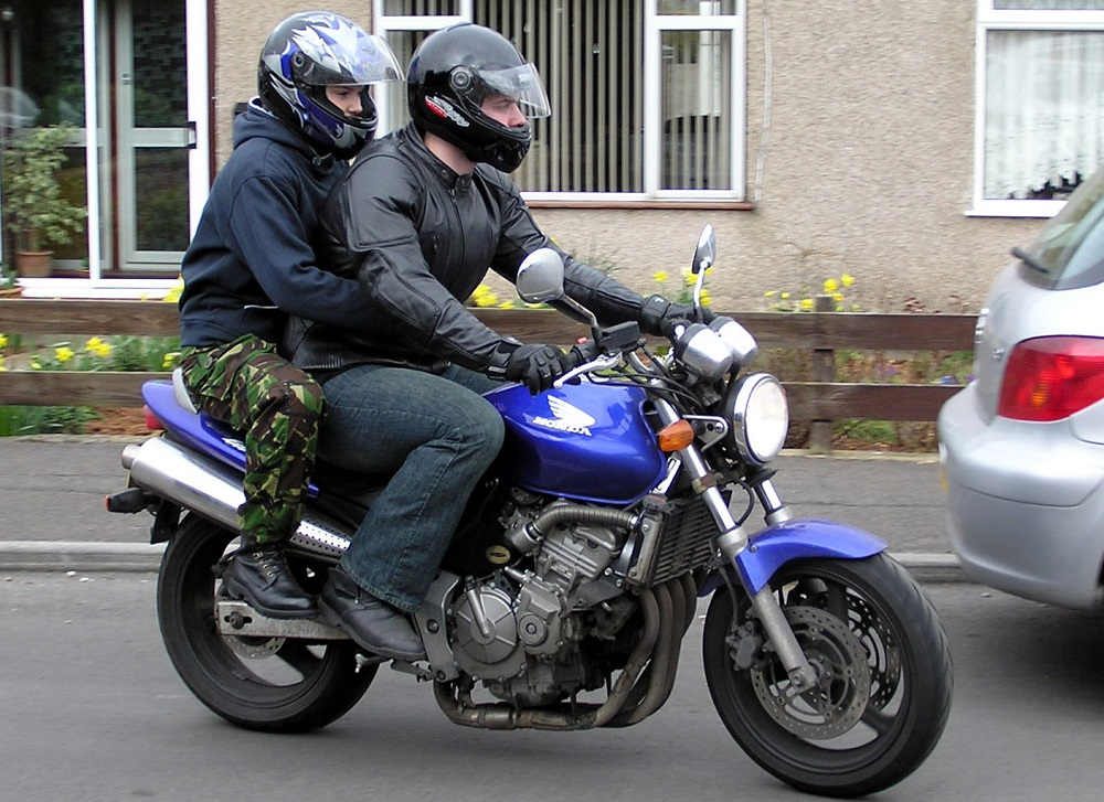 Keeping a Passenger Safe on Your Motorcycle