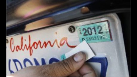 Get a Registration Sticker Off of Your Car