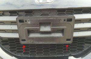 damaged license plates lost license plates