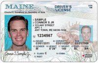 Maine Drivers license