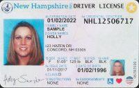 New Hampshire Drivers license