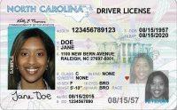 North Carolina Drivers license