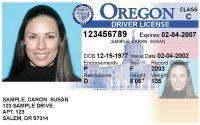 Oregon Drivers license