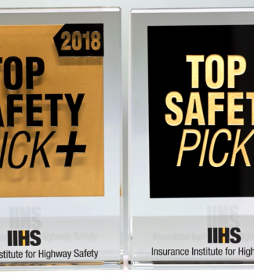 IIHS Top Safety Picks 2018
