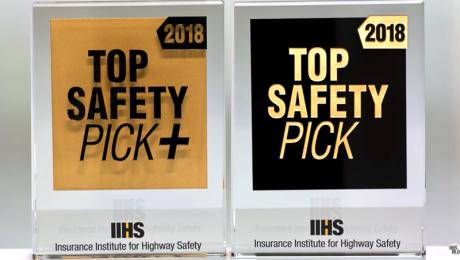 IIHS Top Safety Picks 2018