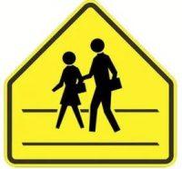 school zone signs shape