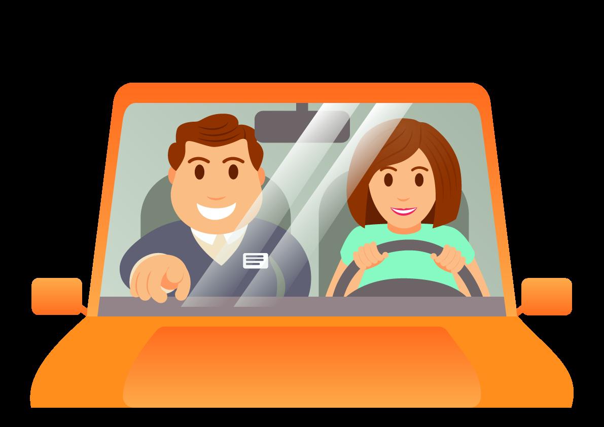 behind the wheel driving school