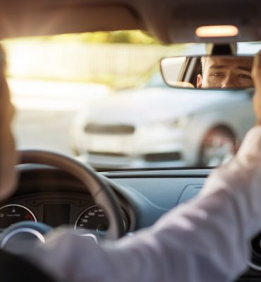 How To Adjust Your Rear View Mirror