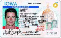 Iowa Drivers license