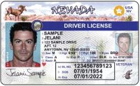 Nevada Drivers license