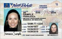North Dakota drivers license