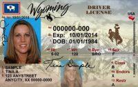 Wyoming drivers license