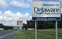 Delaware out-of-state permit rules