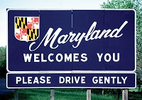 Maryland out-of-state permit rules