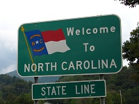 North Carolina out-of-state permit rules
